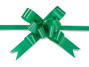 Nashville Wraps Butterfly Pull Bow 100 Count - 5.1cm - Green