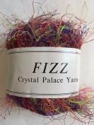 Crystal Palace Fizz #7226 Picnic - Purple, Green, Coral, Wine Eyelash Yarn