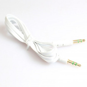 Mchoice 3.5mm Auxiliary Cable Audio Cable Male To Male Flat Aux Cable 1m