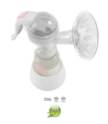 BPA Free Breast Pump Portable Manual Sucker Soft Silicone Massage Simple Sanitary Manual Breast Pump