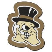 FANMATS NCAA Wake Forest University Demon Deacons Nylon Face Mascot Rug