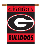 NCAA 2-Sided 70cm by 100cm House Banner With Pole Sleeve