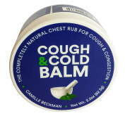 Camille Beckman Cough & Cold Balm All-in-One Natural Vegan Formula, 70ml