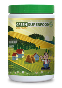 Natural greens powder - GREEN SUPERFOOD BLEND 300G WITH NATURAL PINEAPPLE flavour - Improve immune system