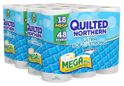 Quilted Northern Ultra Soft and Strong Bath Tissue, 36 Mega Rolls by Quilted Northern