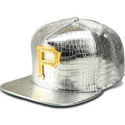 MCSAYS Fashion Hip Hop Style Crystal CZ Iced Out Bling Bling P Letter Pendant Adjustable Snapback PU Leather Baseball Cap/ Hats Sports Hat