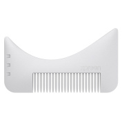 Xpreen Multi-functional Men's Beard Styling & Shaping Trimmers Comb, Moustache Jaw Line Styling and Shaping Template Comb Brush Tool