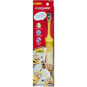 Colgate Kids Minions Talking Powered Toothbrush, Extra Soft, 0kg