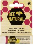 Bee Natural Pomegranate Lip Balm 4.2 g