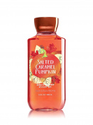 Bath and Body Works Salted Caramel Pumpkin Body Wash Shower Gel 300ml Full Size