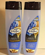 2pck -Soft Whisper by Powerstick Argan & Marula Oil 470ml Body Wash