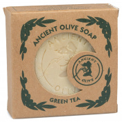 Natural Olive Oil Soap - Non Irritating Soap For Sensitive Skin - 160ml Green Tea Scent