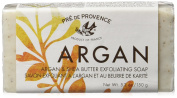 Pre de Provence Argan and Shea Butter Exfoliating Soap, 150 Gramme