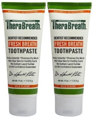 TheraBreath Toothpaste by Dr Harold Katz Llc
