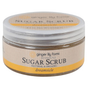 Ginger Lily Farm's Botanicals Sugar Scrub, Dreamsicle, 0.3kg