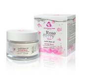 Anti-Ageing, Anti-Wrinkle Face Rose Berry Night Cream with Rose Oil, Argan Oil, Goji Berry and Q10