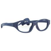 Miraflex Eva Sport Shape Kids Eye Glass Frames | 43/15| Navy Blue | Age:7-10 Yrs.