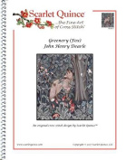 Scarlet Quince DEA017 Greenery (Fox) by John Henry Dearle Counted Cross Stitch Chart, Regular Size Symbols