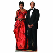 WGH25100 Michelle and Barack Obama Vinyl Wall Graphic