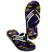 2014 Mens NFL Football Team Logo Camouflage Flip Flop Sandals - Choose Team