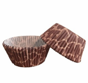 50 PC Giraffe and Animal Print Pattern Cupcake Wrappers from Bakell