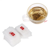 100Pcs Empty Mesh Tea Infuser Bag Herb Spice Filter Strainer Bags With String Household