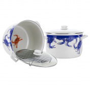 Golden Rabbit - Blue Crab Pattern - 17l Stock Pot