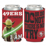 NFL Star Wars Yoda 350ml Can Coozie