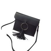 AutumnFall Women Circle Fringed Handbag Shoulder Messenger Bag Envelope Messenger Bags