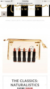 Heidi D. Cosmetics Clear Makeup Bag