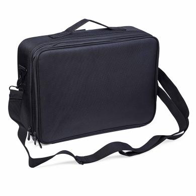 Cosmetic Bag Clothing Black 3 Layers Professional Multifunctional Makeup Bag Toiletry Bag Beauty Bag