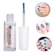 Fheaven 1PC White Glue Adhesive for Star Foil Sticker Nail Art Transfer Tips Gift