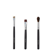 ON & OFF Trio Brow Definer/Flat Liner and Eye Crease Brush