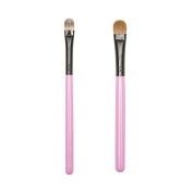 ON & OFF PINKLOVE BRUSH COLLECTION Concealer and Large Shader Brush