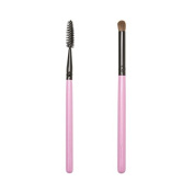ON & OFF PINKLOVE BRUSH COLLECTION Spoolie and Concealer Brush