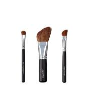 VEGAN LOVE Wet/Dry Shadow Angled Face Brush Trio, Angle Blender