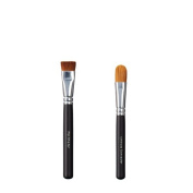 ON & OFF Flat Shader and Ultimate Concealer Makeup Brush