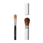 ON & OFF Ultimate Concealer and Take Along Face Makeup Brush, Small