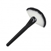 Makeup Brush, Tonsee 1pc Large Fan Makeup Blush Face Powder Foundation Cosmetic Brush - Black
