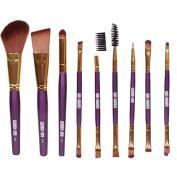 Toraway Pro 9pcs Makeup Cosmetic Brushes Eyeshadow Eye Shadow Foundation Blending Brush