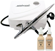 Arialwand Serum Infused Airbrush Foundation Facial Makeup Application System-Light