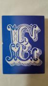 "Make Market Monogram ""E"" Alphabet Soup Wooden Stamp 1pc Rubber Stamp"