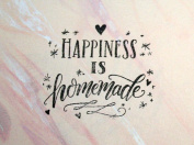 UMR-Design ST-091 Selfmade Happiness Airbrushstencil Step by Step Size S 5,5cm x 5cm
