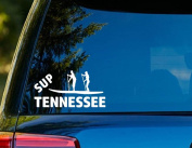 T1145 SUP Tennessee Paddleboard Decal - 7.6cm x 15cm - Easy to apply- Instructions Included - Premium 6 Year Vinyl