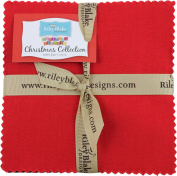 Confetti Cottons Christmas 13cm Stacker 42 13cm Squares Charm Pack Riley Blake Designs 5-CH120-42
