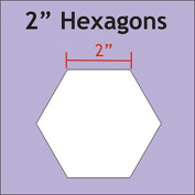 Paper Pieces 5.1cm Hexagon Templates Set of 25