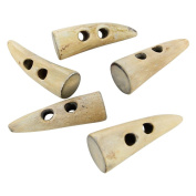 Natural Horn Viking Age Toggle Set