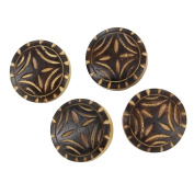 Horn Four Piece Life Essence Button Set