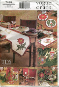 Vogue Craft Pattern 7465 Christmas Home Accessories by Texas Design Studio