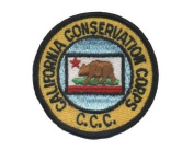CCC California Conservation Corps Patch